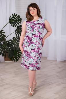 Платье с пионами Шарлиз